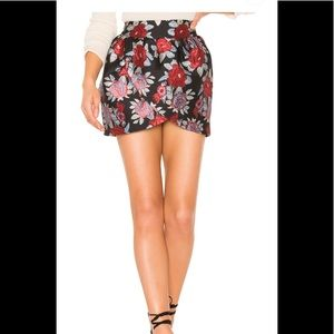 Lovers and friends asymmetric skirt